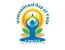 Logo for International Day of Yoga