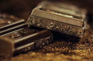 Squares of chocolate