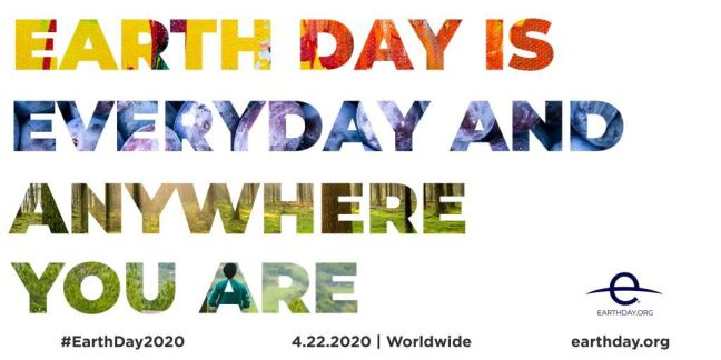 Earth Day graphic