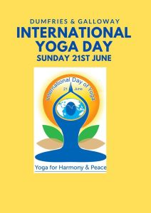Logo of International Yoga Day