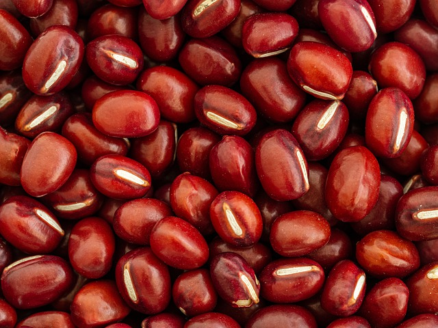 Azduki or aduki red beans